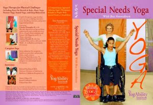 Speacial Needs Yoga DVD cover